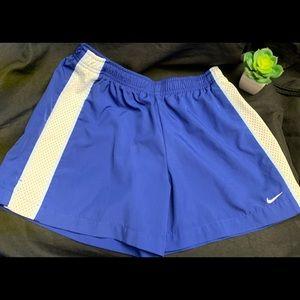 Nike-Blue Sport  short- Size: Small